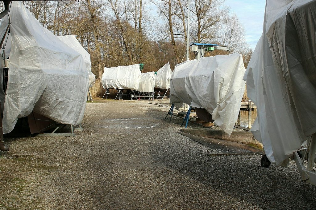 When winterizing your boat, make sure you plan in advance for storage. There are many facilities that offer both indoor and outdoor storage options.